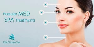 What are common medical spa skincare treatments?